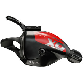 SRAM X01 DH X-Actuation Trigger Shifter 7-speed Discrete Clamp red